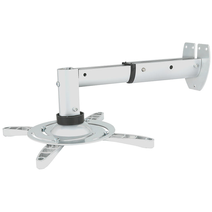 235-310mm Extendable Wall Projector Mount (white or black)