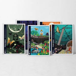 Complete Set - Riven Islands Poster Series