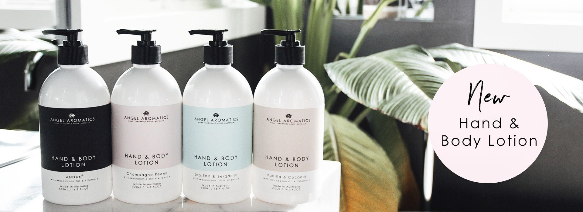 hand body lotions