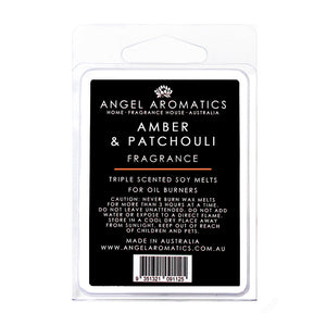 Amber and Patchouli Soy Wax Melts-Soy Melts-Angel Aromatics