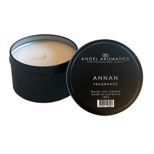 Travel Tin Candles - Annan-Candles-Angel Aromatics