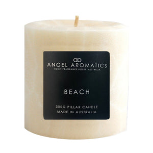 Pillar Candles - Beach-Candles-Angel Aromatics