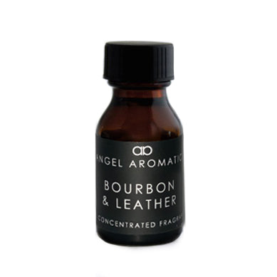 NEW Bourbon and Leather 15ml Diffuser Oil-Diffuser Oil-Angel Aromatics