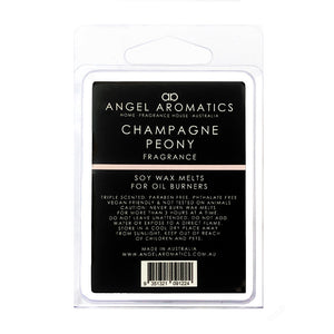Champagne Peony Soy Wax Melts-Soy Melts-Angel Aromatics