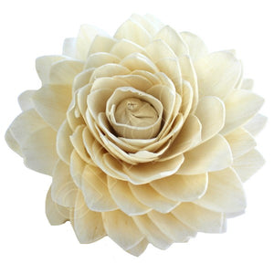 Balsa Wood Flowers Ikou Lily White Flowers-Flowers-Angel Aromatics