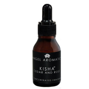 Kisha - Cedar and Rose Fragrance 15ml Oil-Oil Diffuser-Angel Aromatics