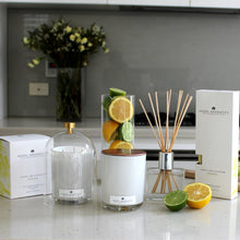 470g Scented Candles - Lemon Lime and Blossom-scented candles-Angel Aromatics