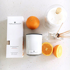 Reed Diffuser - Orange Blossom-Diffusers-Angel Aromatics