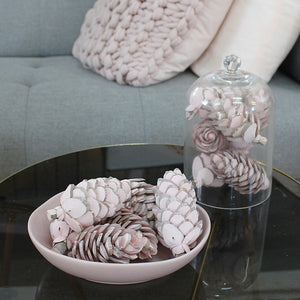 Balsa Wood Pink Denver Pine Cone OUT OF STOCK-Flowers-Angel Aromatics