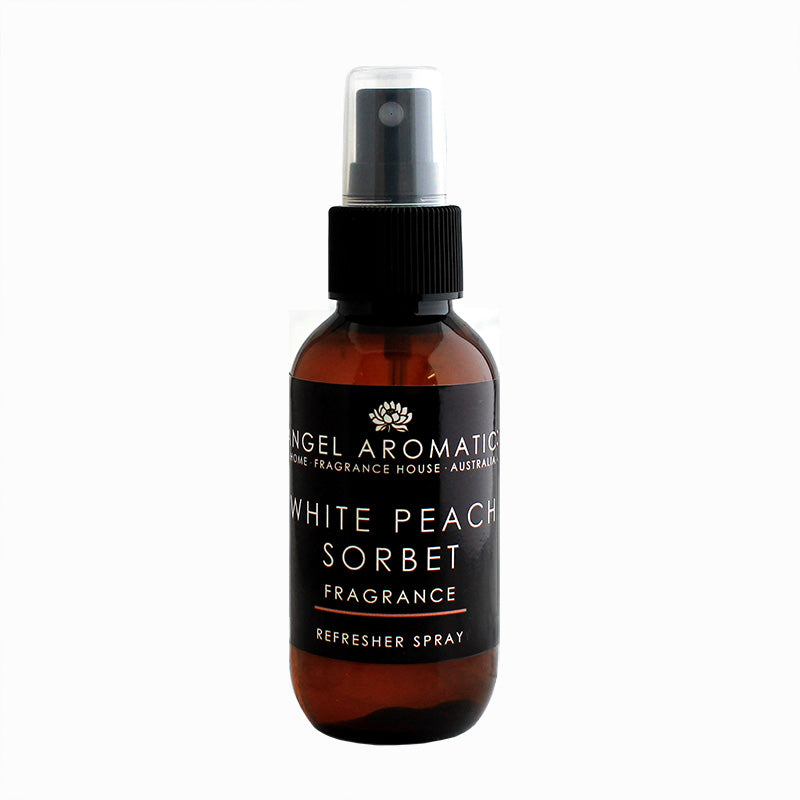 White Peach Sorbet Refresher Spray-Refresher-Angel Aromatics