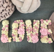 Balsa wood Flower Name Letters-Flowers-Angel Aromatics
