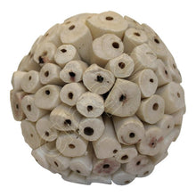 Balsa Wood Ivory Baby Ball