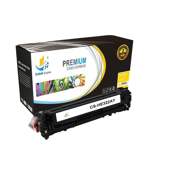 Catch Supplies Replacement HP CE322A Standard Yield Toner Cartridge