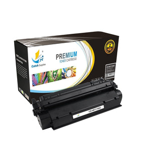 Catch Supplies Replacement C7115A Black Toner Cartridge