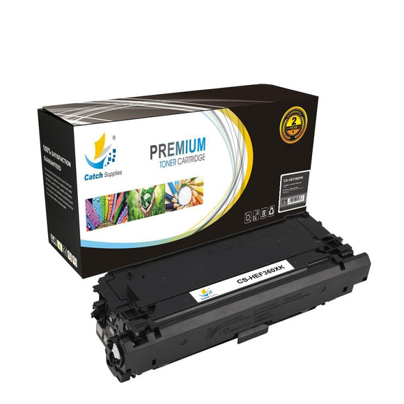 Catch Supplies Replacement CF360X – 508X High Yield Black Toner Cartridge