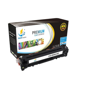 Catch Supplies Replacement HP CB541A Standard Yield Toner Cartridge