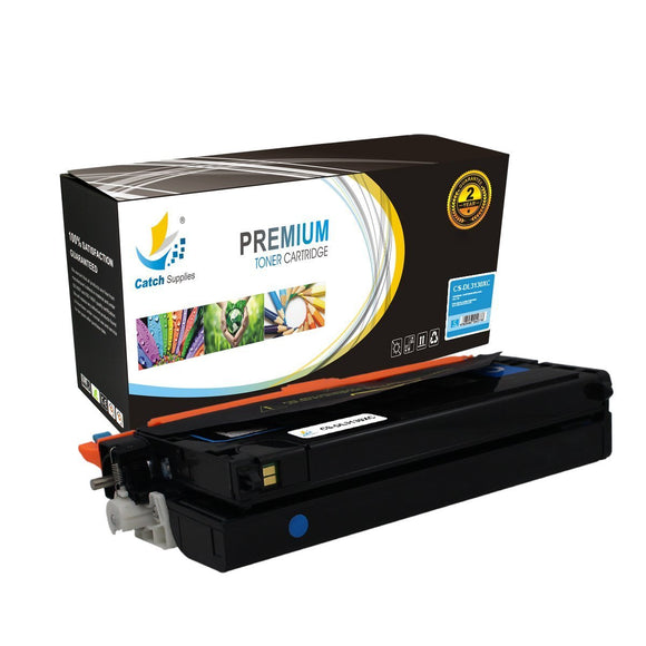 Catch Supplies Replacement 3130C Cyan Toner Cartridge