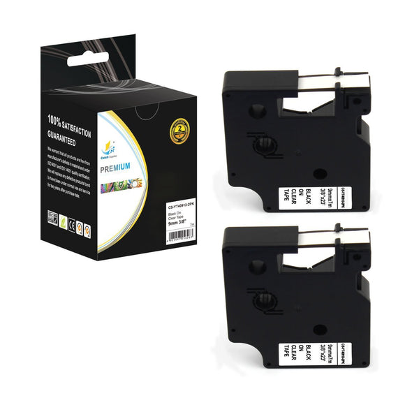 Catch Supplies Replacement Dymo 40910 Labels Labeling Tape - Two Pack