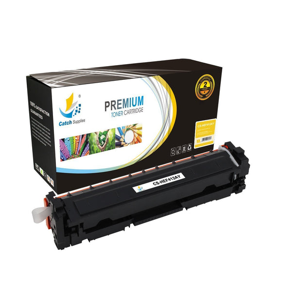 Catch Supplies Replacement HP CF412A Standard Yield Toner Cartridge
