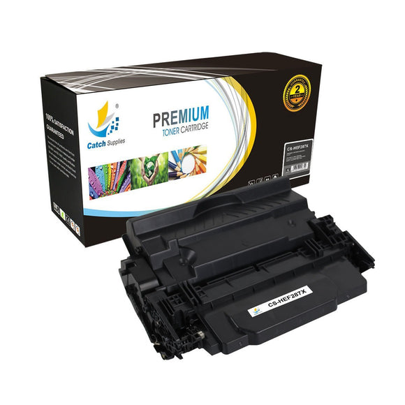 Catch Supplies Replacement HP 87X CF287X High Yield Toner Cartridge