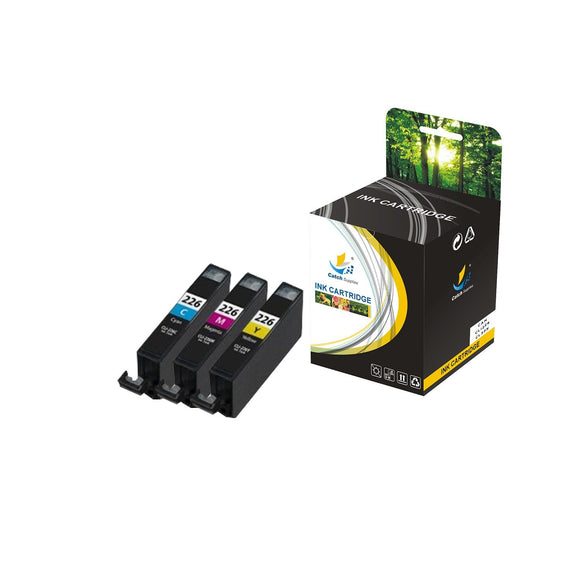Catch Supplies Replacement Canon CLI226 High Yield Ink Cartridge - 3 Pack