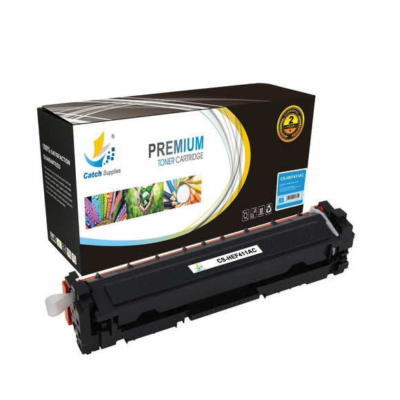 Catch Supplies Replacement HP CF411A Standard Yield Toner Cartridge