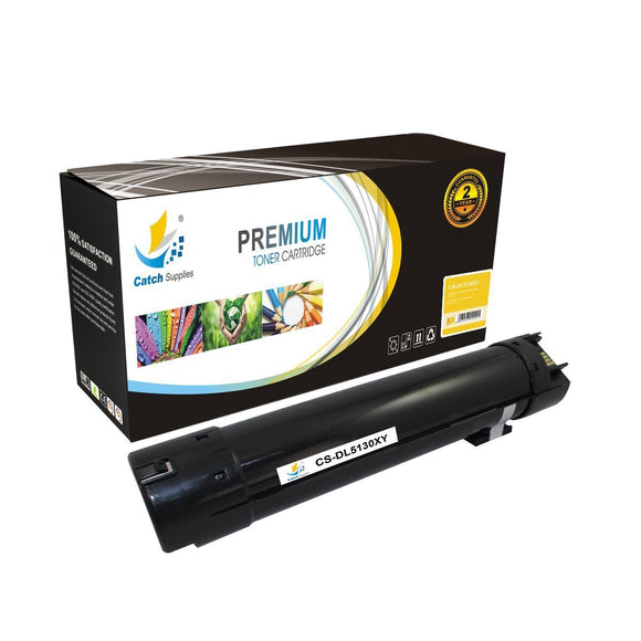 Catch Supplies Replacement 5130Y Yellow Toner Cartridge