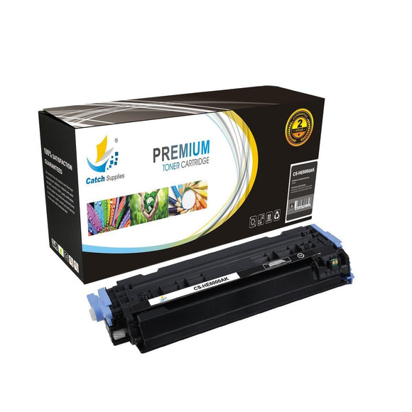 Catch Supplies Replacement HP Q6000A Standard Yield Toner Cartridge