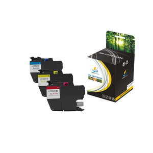 Catch Supplies Replacement Brother LC3029C, LC3029M, LC3029Y High Yield Ink Cartridge Ink Cartridge - Three Pack
