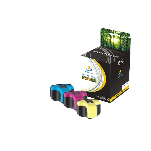 HP 02 REPLACEMENT INK CARTRIDGE 3 PACK SET - CATCH SUPPLIES