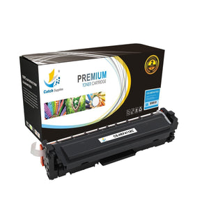 Catch Supplies Replacement CF411X – 410X High Yield Cyan Toner Cartridge