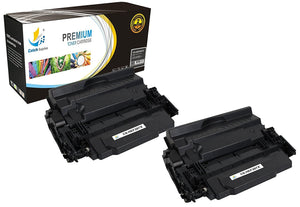 Catch Supplies Replacement HP CF287X High Yield Black Toner Cartridge Laser Printer Toner Cartridges - Two Pack