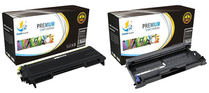 Catch Supplies Replacement Combo pack of 1 TN350 Jumbo Yield Toner Cartridge and 1 DR350 Drum Unit