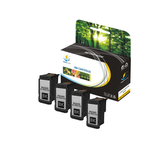 CANON PG245 XL REPLACEMENT INK CARTRIDGE 4 PACK SET - CATCH SUPPLIES