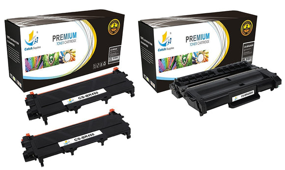 Catch Supplies Replacement Combo pack of 2 TN450 Toner Cartridges and 1 DR420 Drum Unit
