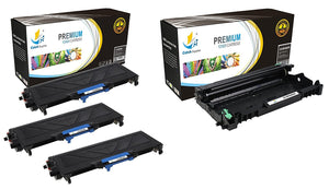 Catch Supplies Replacement Combo pack of 3 TN360 Toner Cartridges and 1 DR360 Drum Unit
