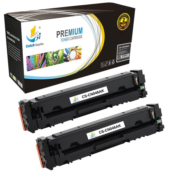 Catch Supplies Replacement Canon 046K Standard Yield Toner Cartridge - 2 Pack