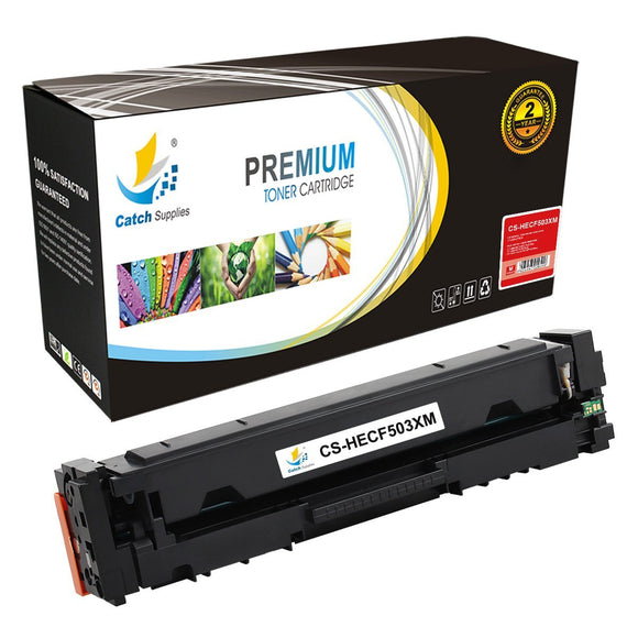 Catch Supplies Replacement HP 202X-CF503X High Yield Toner Cartridge