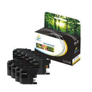 CATCH SUPPLIES REPLACEMENT LC207 LC205 INK CARTRIDGE 10 PACK SET