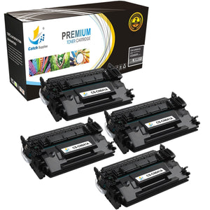 Catch Supplies Replacement Canon 0452C001 Standard Yield Toner Cartridge - 4 Pack