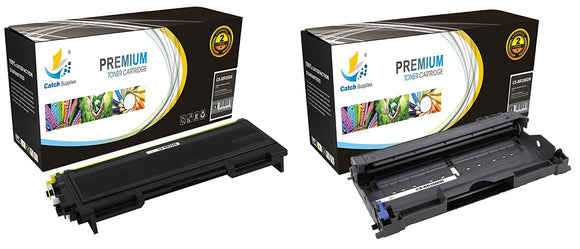 Catch Supplies Replacement Combo pack of 1 TN350 Toner Cartridge and 1 DR350 Drum Unit