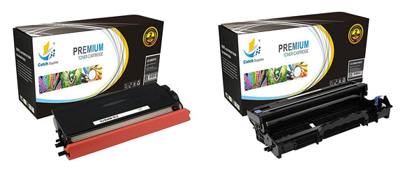 Catch Supplies Replacement Combo pack of 1 TN570 Jumbo Yield Toner Cartridge and 1 D510 Drum Unit