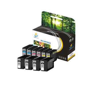 CANON CLI-221 REPLACEMENT INK CARTRIDGE 10 PACK SET - CATCH SUPPLIES