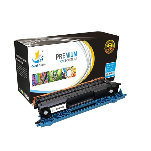 Catch Supplies Replacement Brother TN-115C High Yield Toner Cartridge