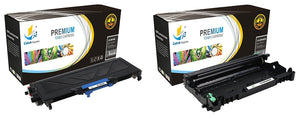 Catch Supplies Replacement Combo pack of 1 TN360 Jumbo Yield Toner Cartridge and 1 DR360 Drum Unit