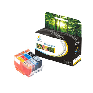 Catch Supplies Replacement HP 564XL CN684WN, CN685WN, CB319WN, CN687WN High Yield Ink Cartridge - 4 Pack