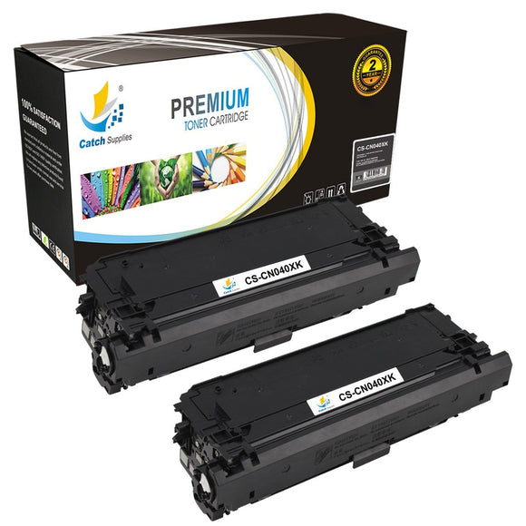Catch Supplies Replacement Canon 0461C001 High Yield  Toner Cartridge - 2 Pack