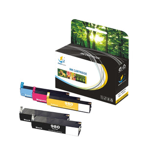 HP 980XL AND 981XL REPLACEMENT INK CARTRIDGE 5 PACK SET - CATCH SUPPLIES