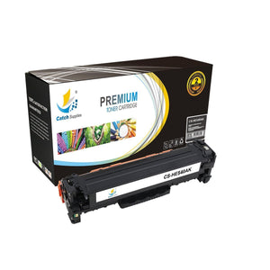 Catch Supplies Replacement HP CB540A Standard Yield Toner Cartridge