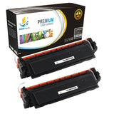 Catch Supplies Replacement HP CF410X High Yield Black Toner Cartridge Laser Printer Toner Cartridges - Two Pack